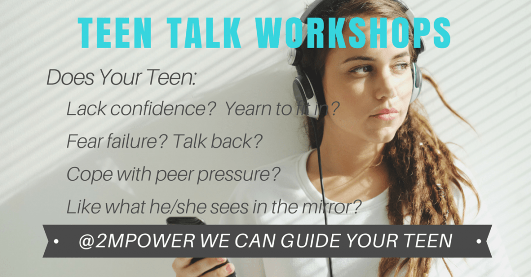 teen talk workshop